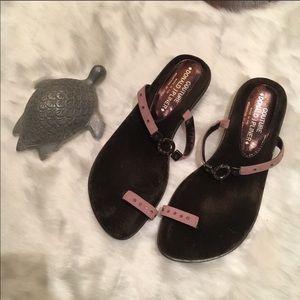 Couture Donald J Pliner Jewel Adorned Sandals 8.5